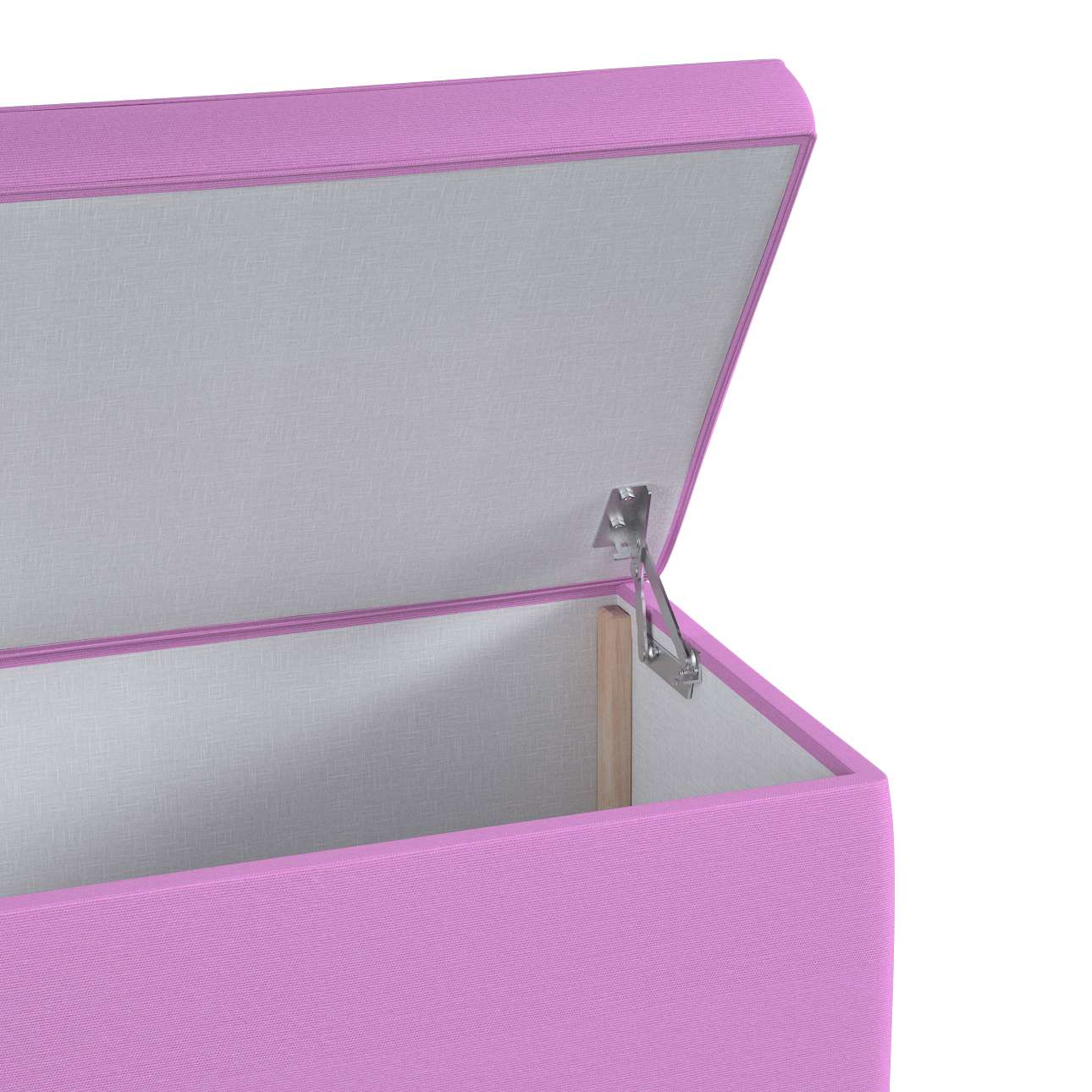 Upholstered storage chest in collection Happiness, fabric: 133-38