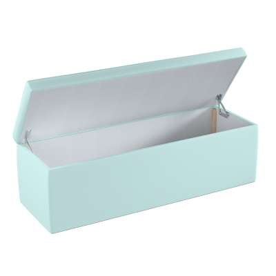Upholstered storage chest 702-10 pastel blue Collection Cotton Story
