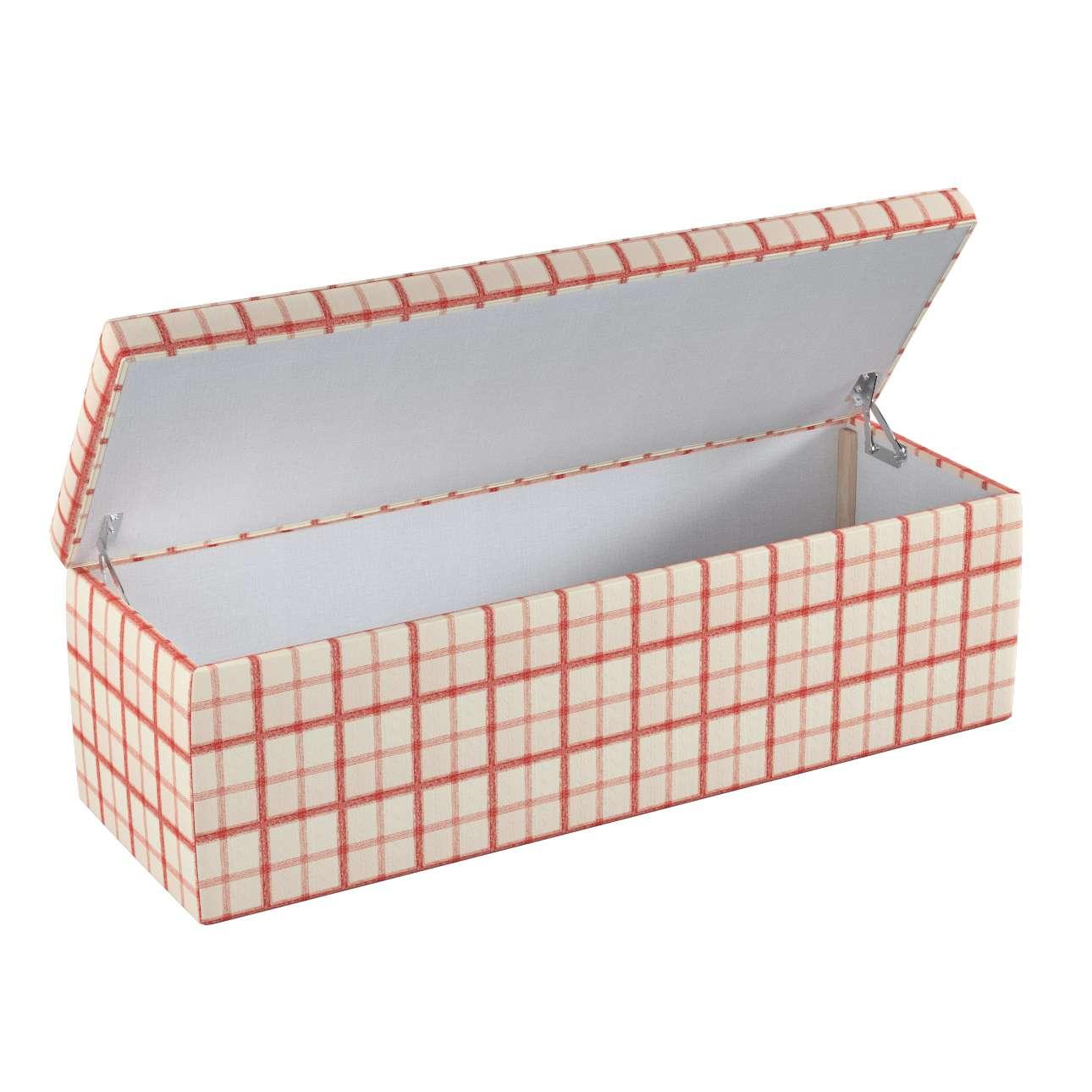 Skrzynia tapicerowana 90x40x40 cm w kolekcji Avinon, tkanina: 131-15