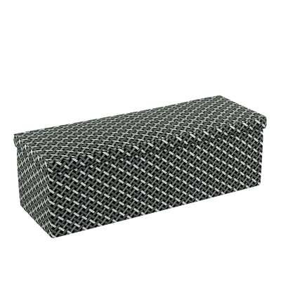 Truhlica čalúnená V kolekcii Black & White, tkanina: 142-87