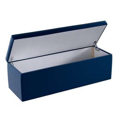 Upholstered storage chest 704-29 navy blue Collection Posh Velvet