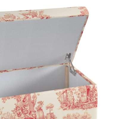 Skrzynia tapicerowana w kolekcji Avinon, tkanina: 132-15