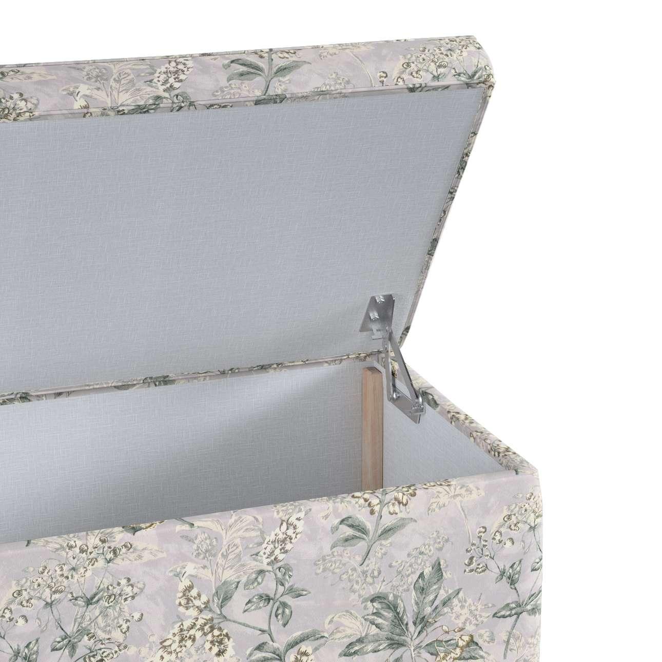 Skrzynia tapicerowana w kolekcji Londres, tkanina: 143-37
