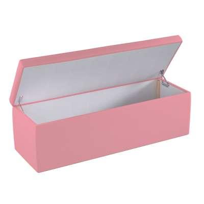 Čalouněný úložný sedací box 133-62 špinavě růžová Kolekce Happiness