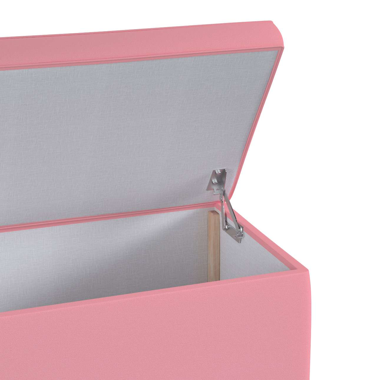 Upholstered storage chest in collection Happiness, fabric: 133-62
