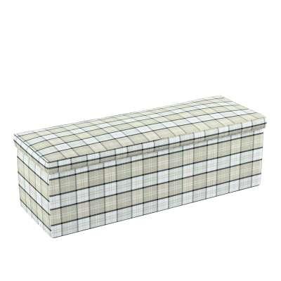 Čalouněná skříň s volbou látky - 2 velikosti 143-64 kostka šedo-bežová Kolekce Bristol
