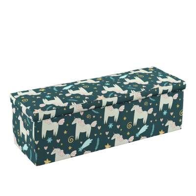 Skrzynia tapicerowana 500-43 niebieski Kolekcja Magic Collection