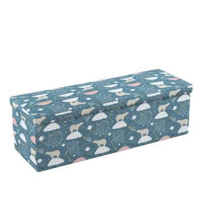 Skrzynia tapicerowana 500-45 niebieski Kolekcja Magic Collection