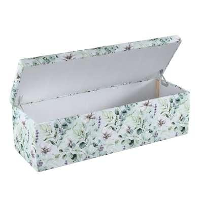 Čalouněná skříň s volbou látky - 2 velikosti 143-66 magnólie na mátovém pozadí Kolekce Flowers