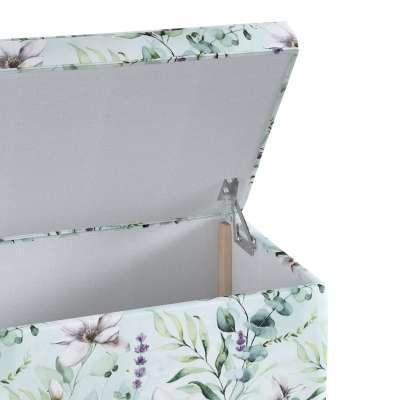 Skrzynia tapicerowana w kolekcji Flowers, tkanina: 143-66