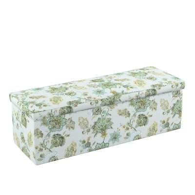 Čalouněná skříň s volbou látky - 2 velikosti 143-67 květiny na béžovo - šedém pozadí Kolekce Flowers
