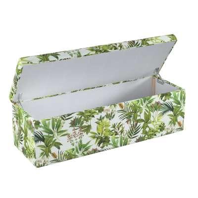 Čalouněná skříň s volbou látky - 2 velikosti 143-69 zielono-czerwona rośliność na białym tle Kolekce Tropical Island