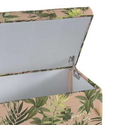 Skrzynia tapicerowana w kolekcji Tropical Island, tkanina: 143-71