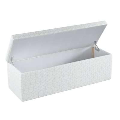 Čalouněná skříň s volbou látky - 2 velikosti 143-51 vzor na krémově bílém podkladu Kolekce Christmas