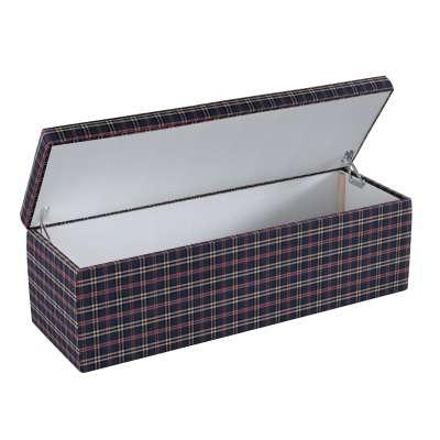 Čalouněná skříň s volbou látky - 2 velikosti 142-68 kostka modro-červená Kolekce Christmas