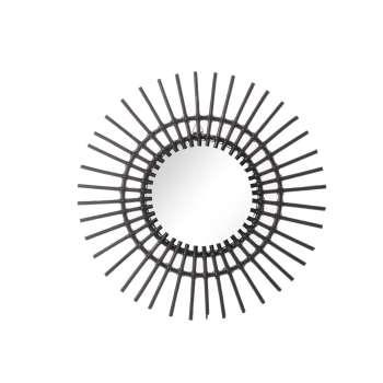 Lustro Okrągłe Kairos śr. 55cm Black