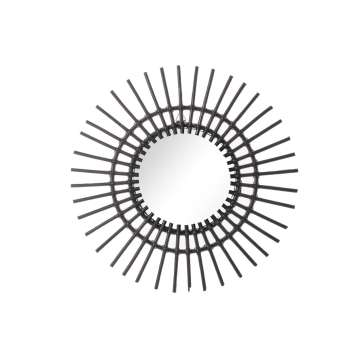 Lustro okrągłe Kairos 55cm black