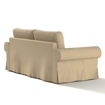 Pokrowiec na sofę Backabro 3-osobową rozkładaną w kolekcji Cotton Panama, tkanina: 702-01