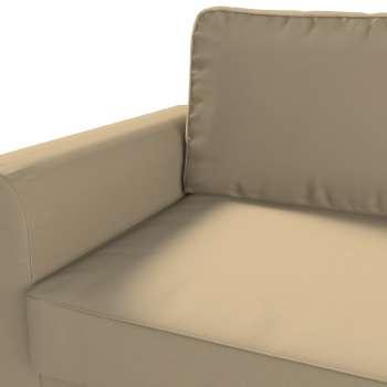 Backabro 3-Sitzer Sofabezug ausklappbar Backabro 3-Sitzer Sofa von der Kollektion Cotton Panama, Stoff: 702-01