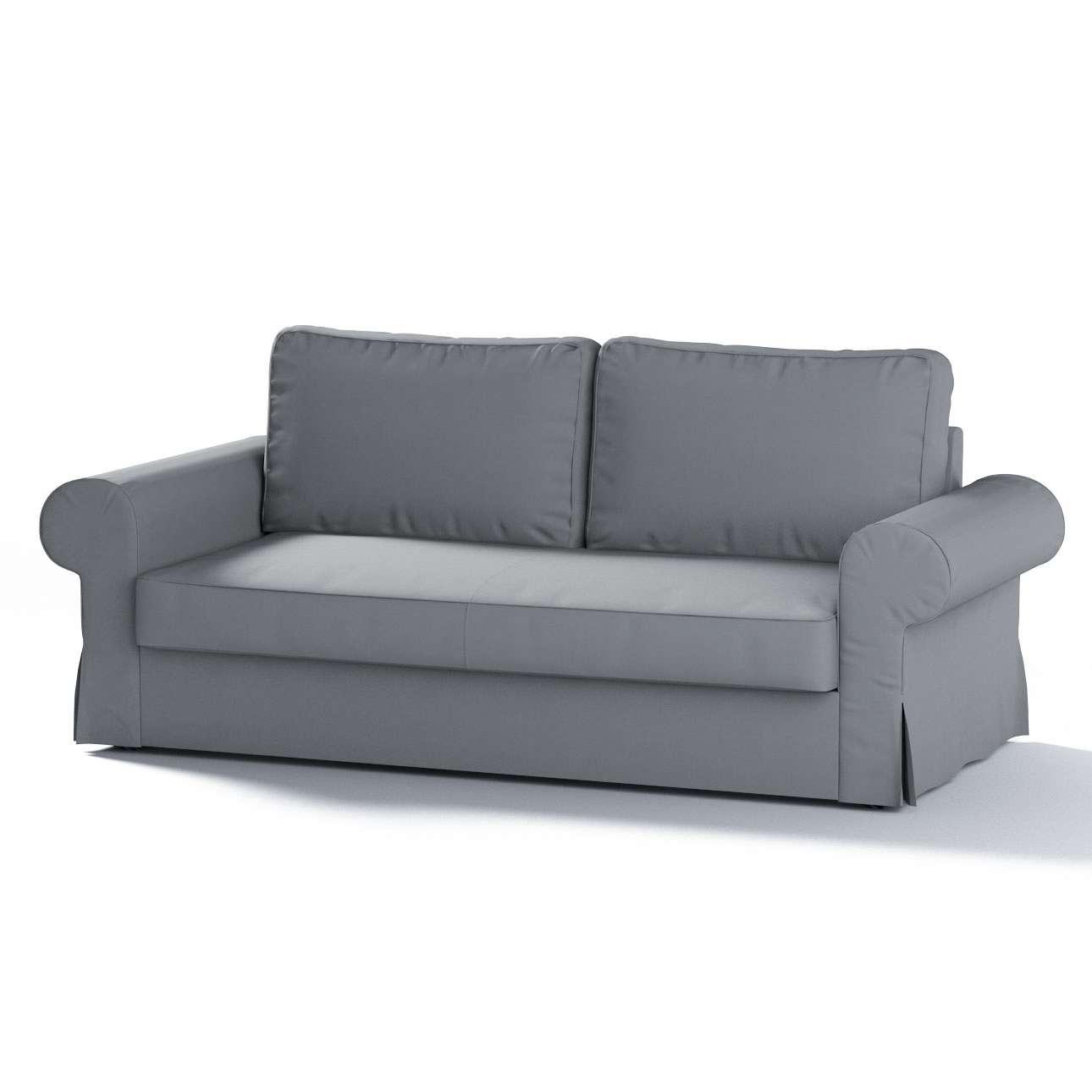 Backabro 3-Sitzer Sofabezug ausklappbar von der Kollektion Cotton Panama, Stoff: 702-07