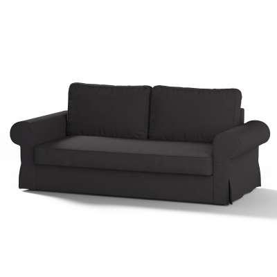 Backabro 3-Sitzer Sofabezug ausklappbar von der Kollektion Cotton Panama, Stoff: 702-09
