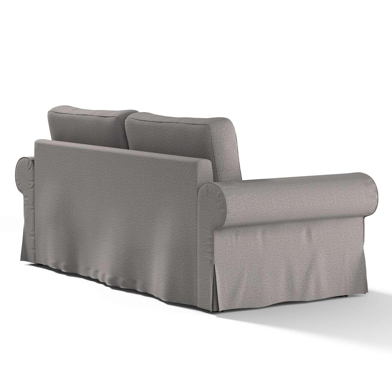 backabro 3 sitzer sofabezug ausklappbar grau dekoria. Black Bedroom Furniture Sets. Home Design Ideas