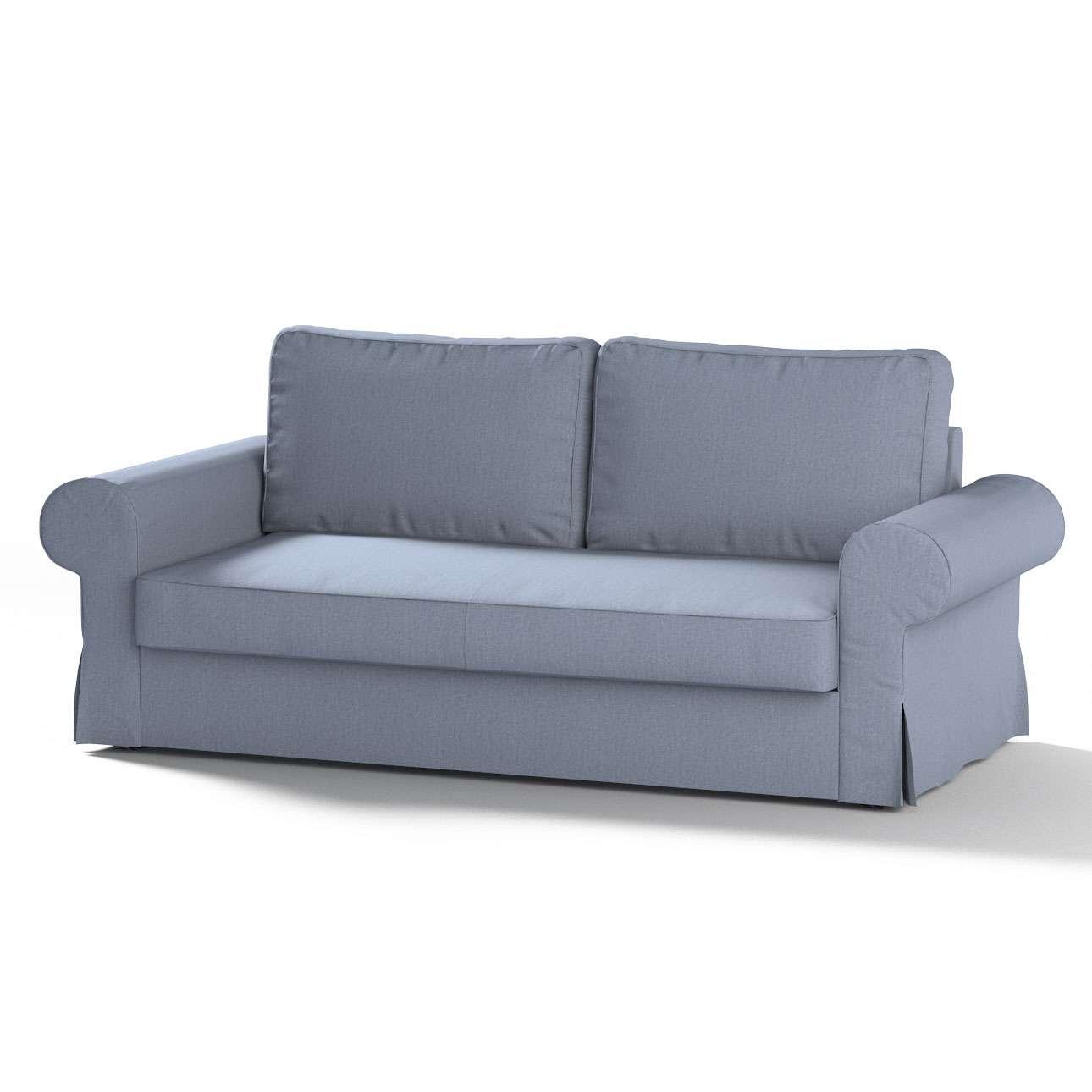 Pokrowiec na sofę Backabro 3-osobową rozkładaną sofa Backabro 3-osobowa rozkładana w kolekcji Chenille, tkanina: 702-13