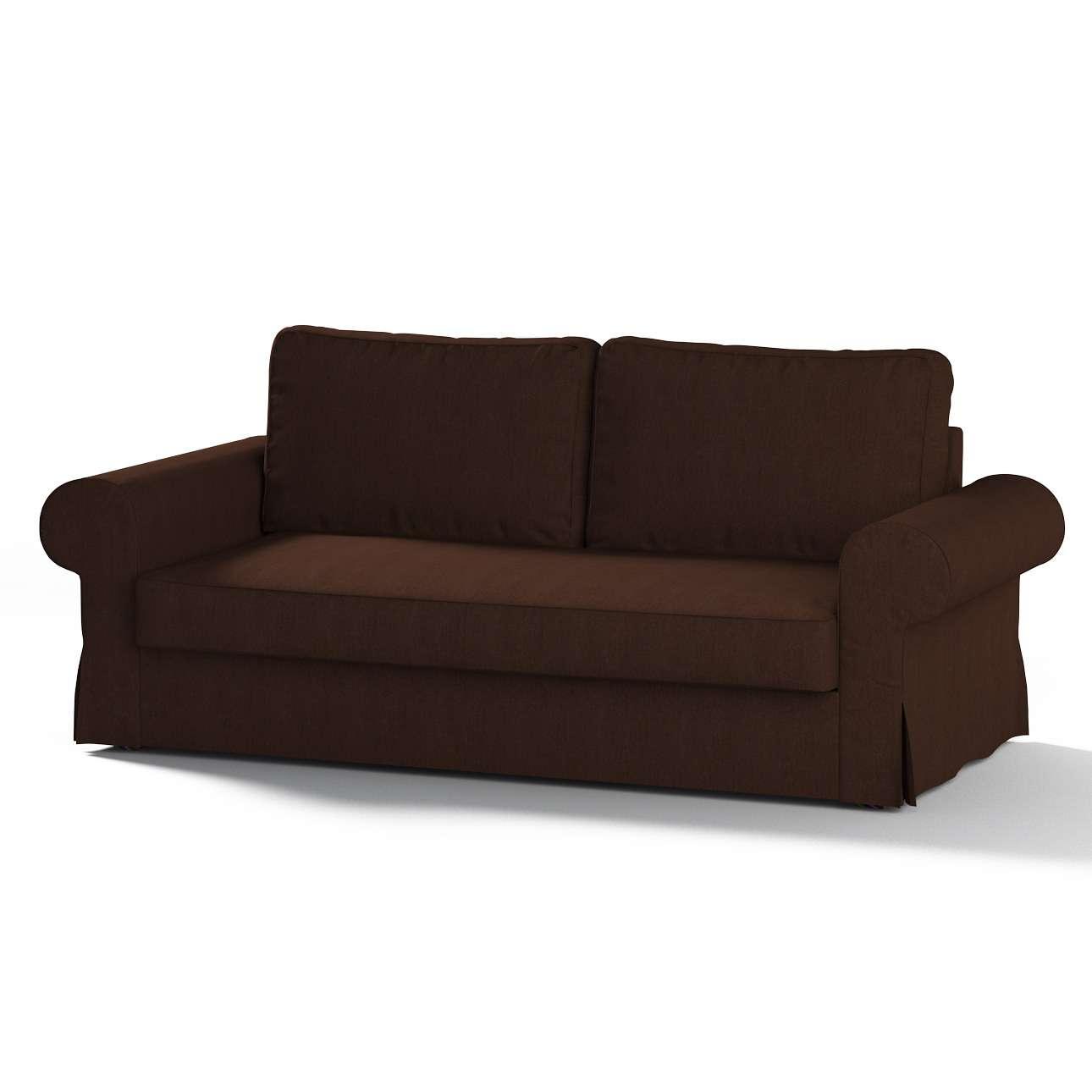 Bezug für Backabro 3-Sitzer Sofa ausklappbar von der Kollektion Chenille , Stoff: 702-18