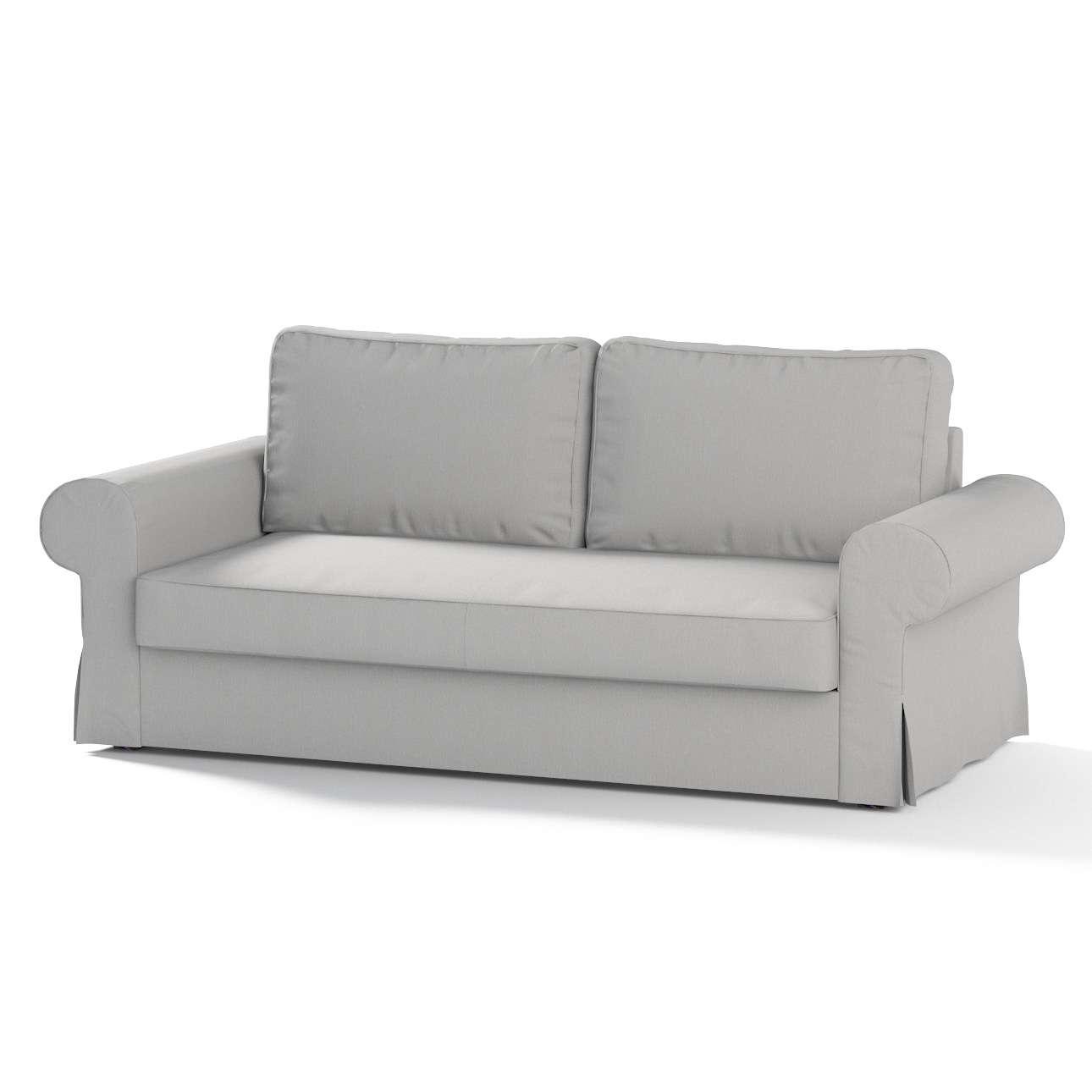 backabro 3 sitzer sofabezug ausklappbar hellgrau dekoria. Black Bedroom Furniture Sets. Home Design Ideas