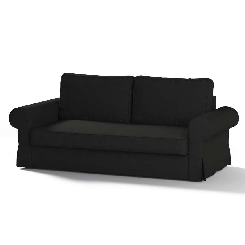 backabro 3 sitzer sofabezug ausklappbar schwarz backabro 3 sitzer sofa dekoria. Black Bedroom Furniture Sets. Home Design Ideas