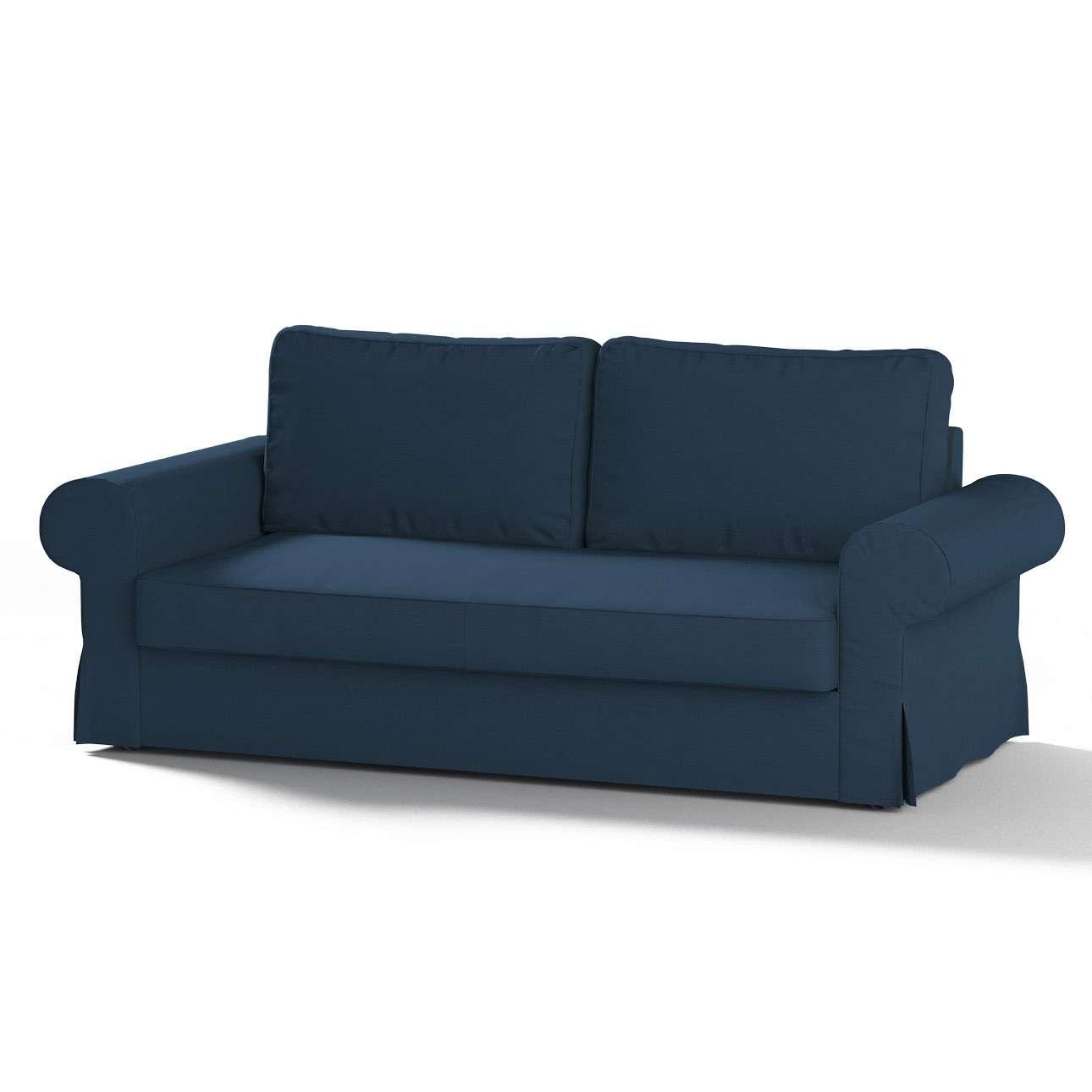 Bezug für Backabro 3-Sitzer Sofa ausklappbar von der Kollektion Cotton Panama, Stoff: 702-30