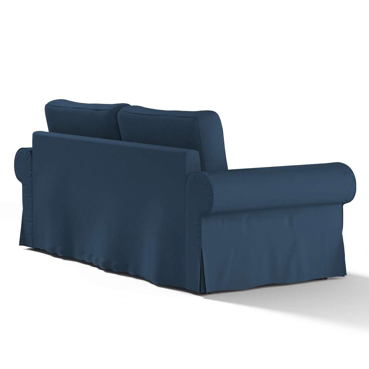 Backabro 3-Sitzer Sofabezug ausklappbar, marinenblau , 702