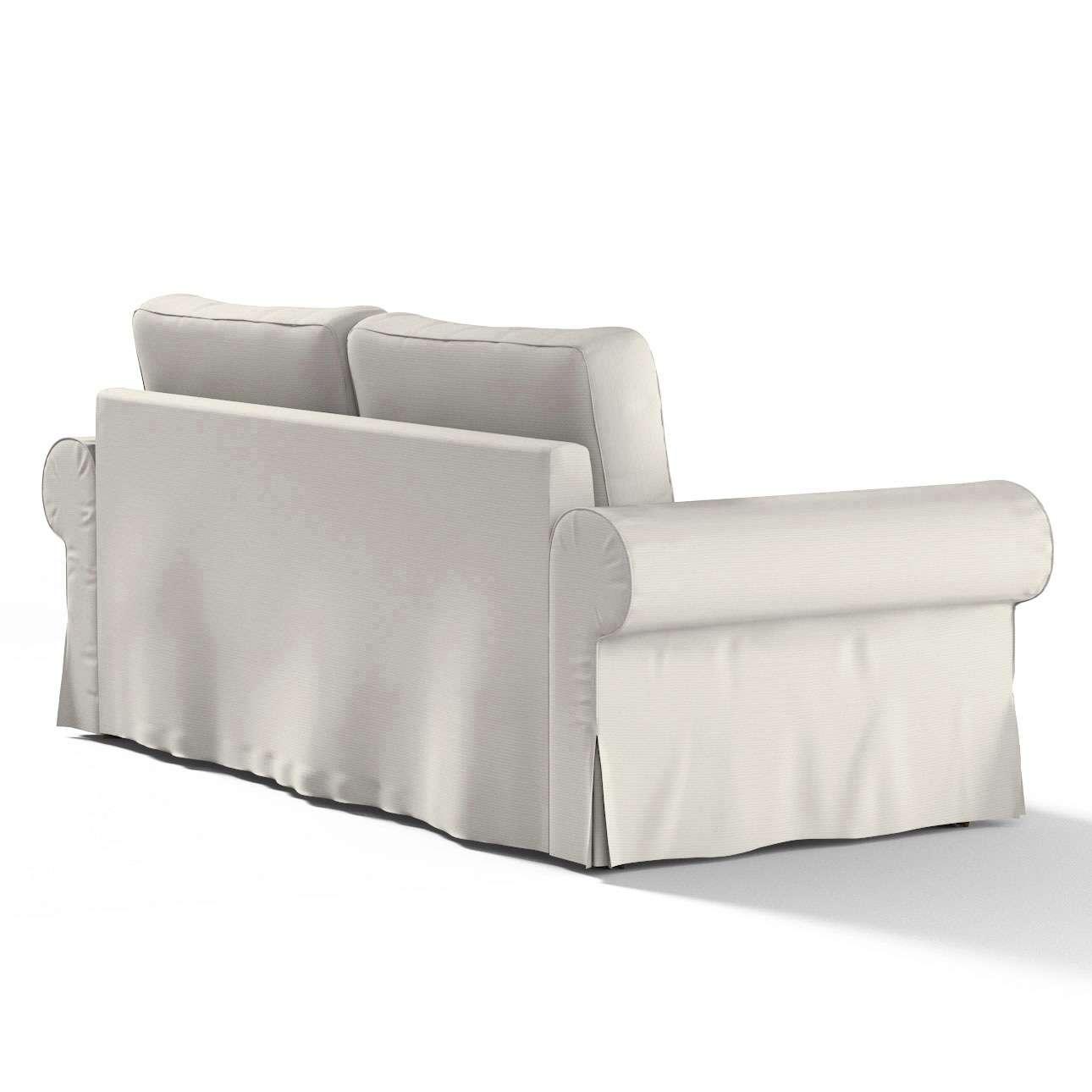 Pokrowiec na sofę Backabro 3-osobową rozkładaną w kolekcji Cotton Panama, tkanina: 702-31