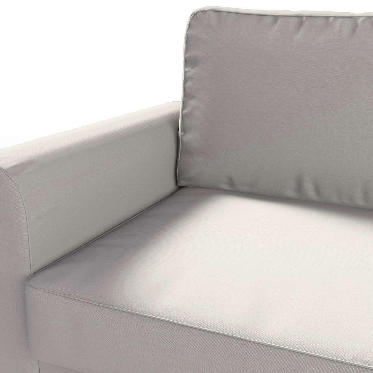 Backabro 3-Sitzer Sofabezug ausklappbar Backabro 3-Sitzer Sofa von der Kollektion Cotton Panama, Stoff: 702-31