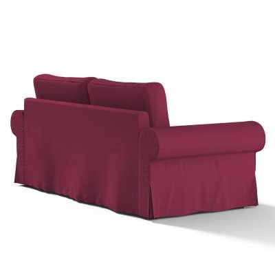 Pokrowiec na sofę Backabro 3-osobową rozkładaną w kolekcji Cotton Panama, tkanina: 702-32