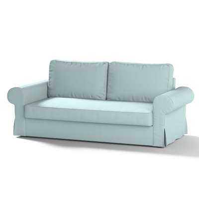 Backabro 3-seat sofa bed cover 702-10 pastel blue Collection Panama Cotton
