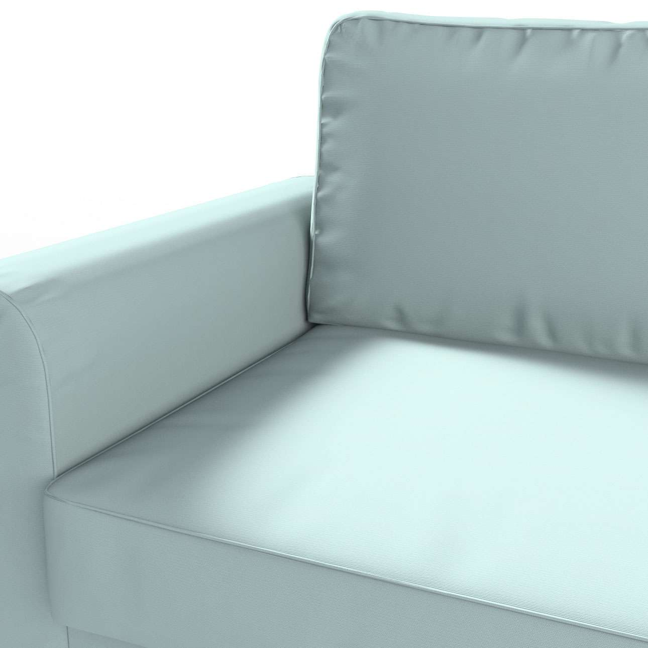 backabro 3 sitzer sofabezug ausklappbar hellblau dekoria. Black Bedroom Furniture Sets. Home Design Ideas
