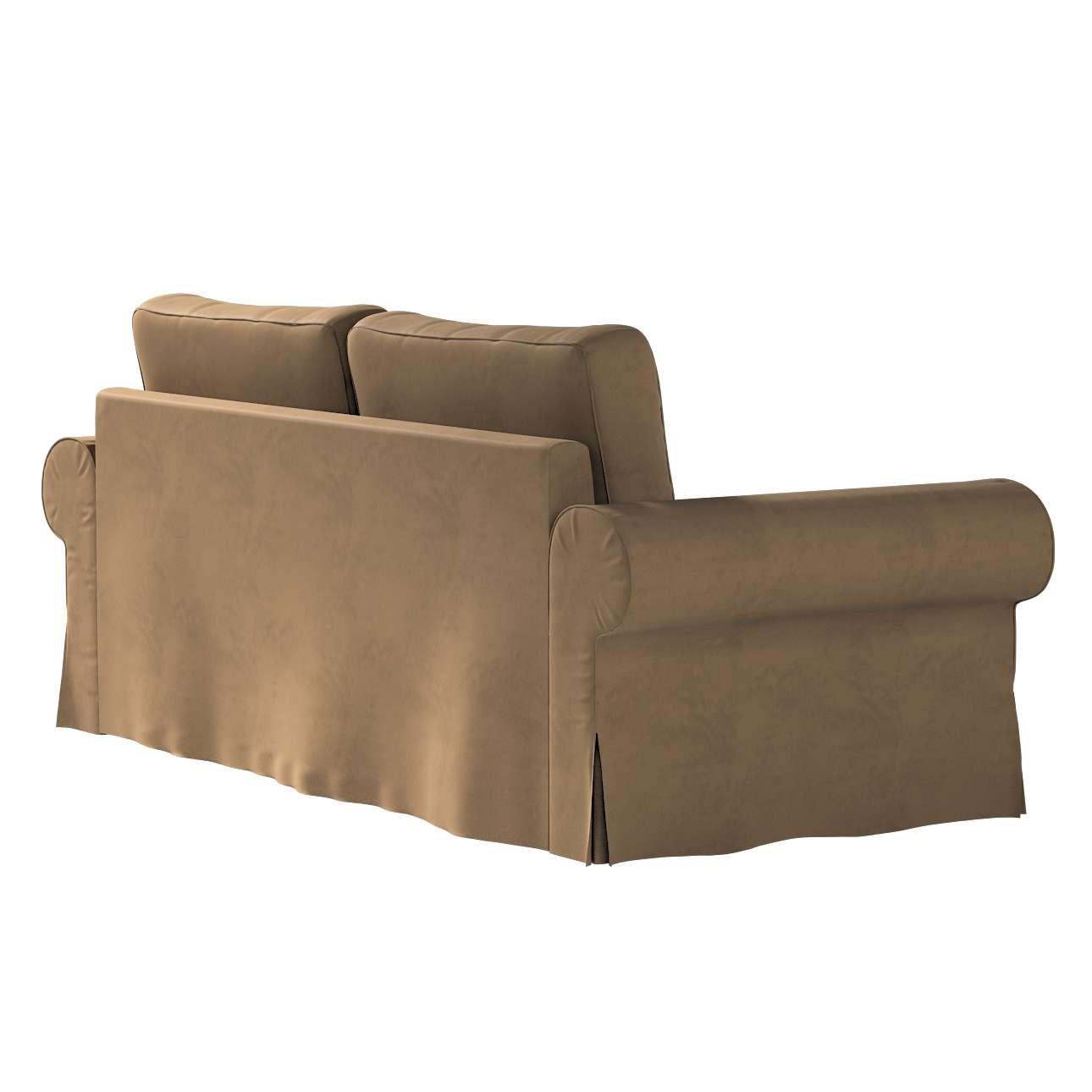 Pokrowiec na sofę Backabro 3-osobową rozkładaną w kolekcji Living II, tkanina: 160-94