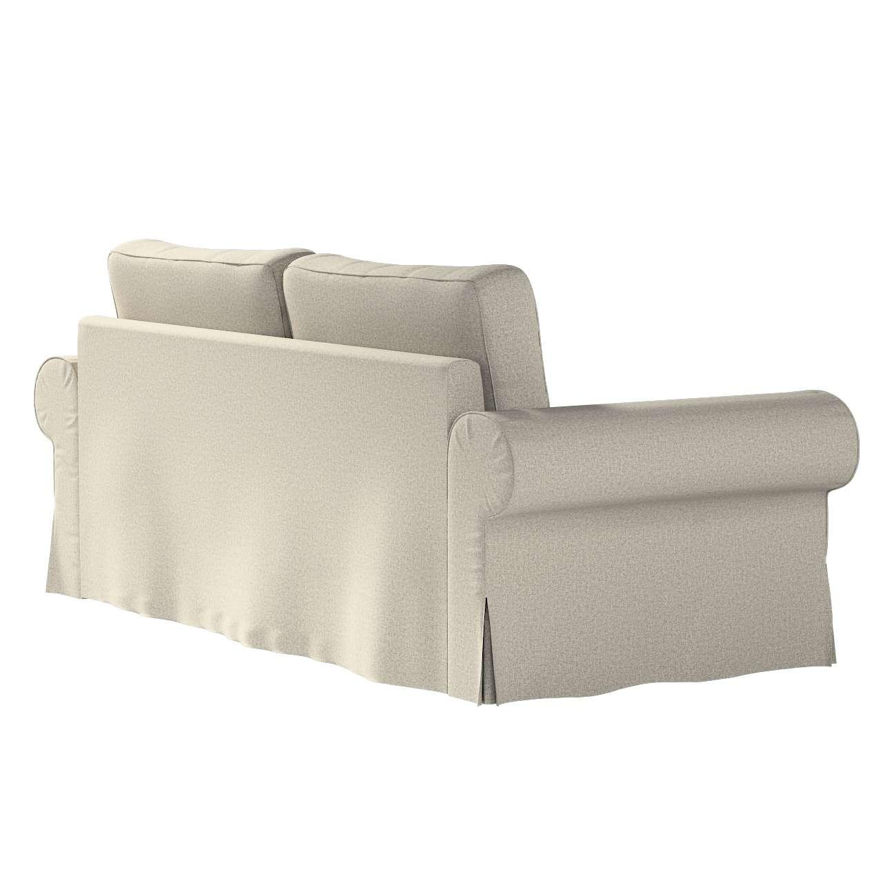 Pokrowiec na sofę Backabro 3-osobową rozkładaną w kolekcji Madrid, tkanina: 161-23
