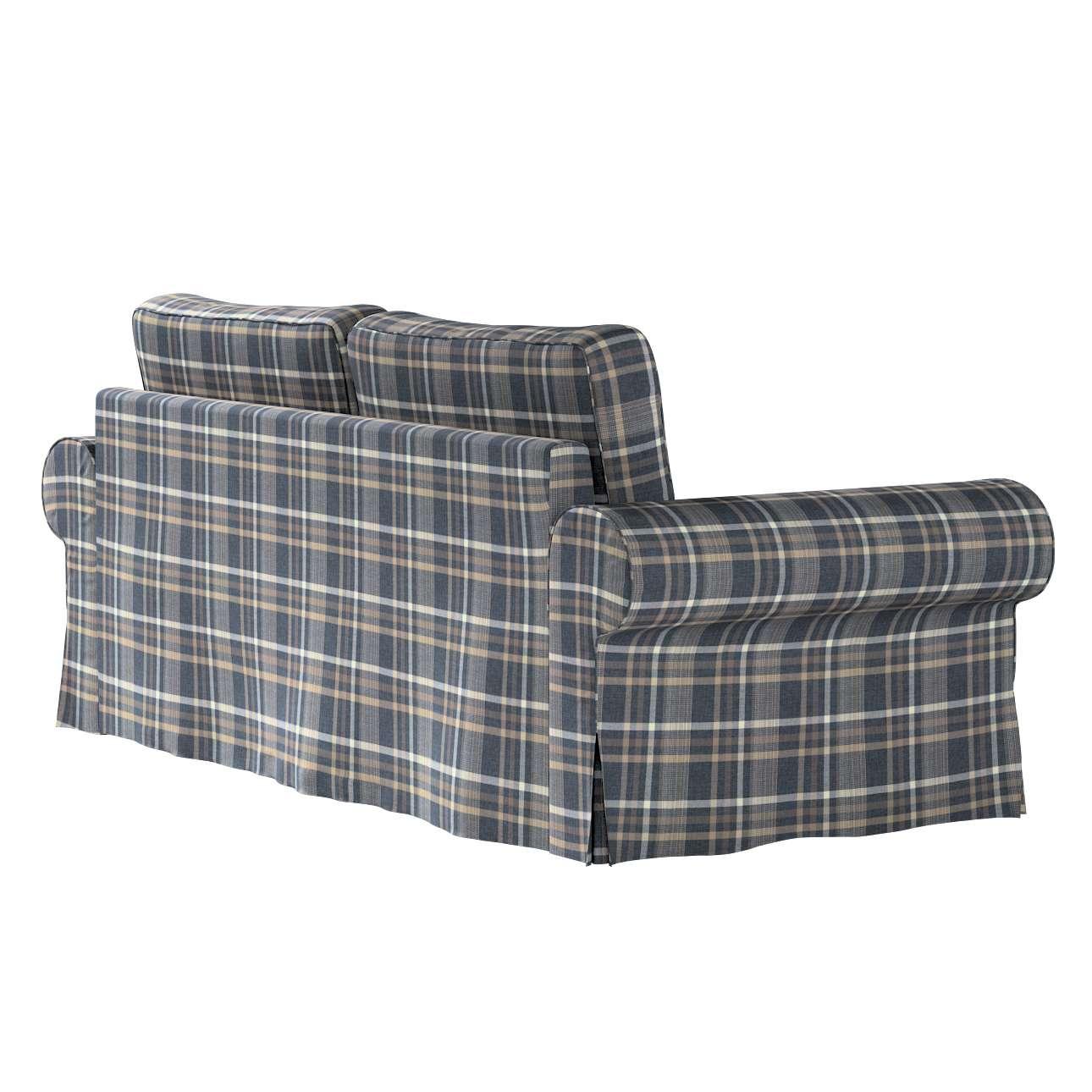 Pokrowiec na sofę Backabro 3-osobową rozkładaną w kolekcji Edinburgh, tkanina: 703-16