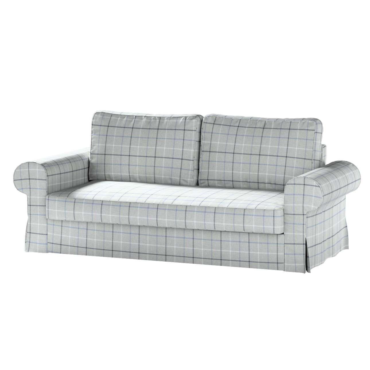 Pokrowiec na sofę Backabro 3-osobową rozkładaną w kolekcji Edinburgh, tkanina: 703-18