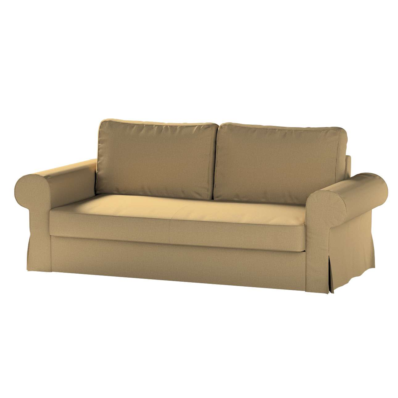 Pokrowiec na sofę Backabro 3-osobową rozkładaną w kolekcji Living, tkanina: 161-50