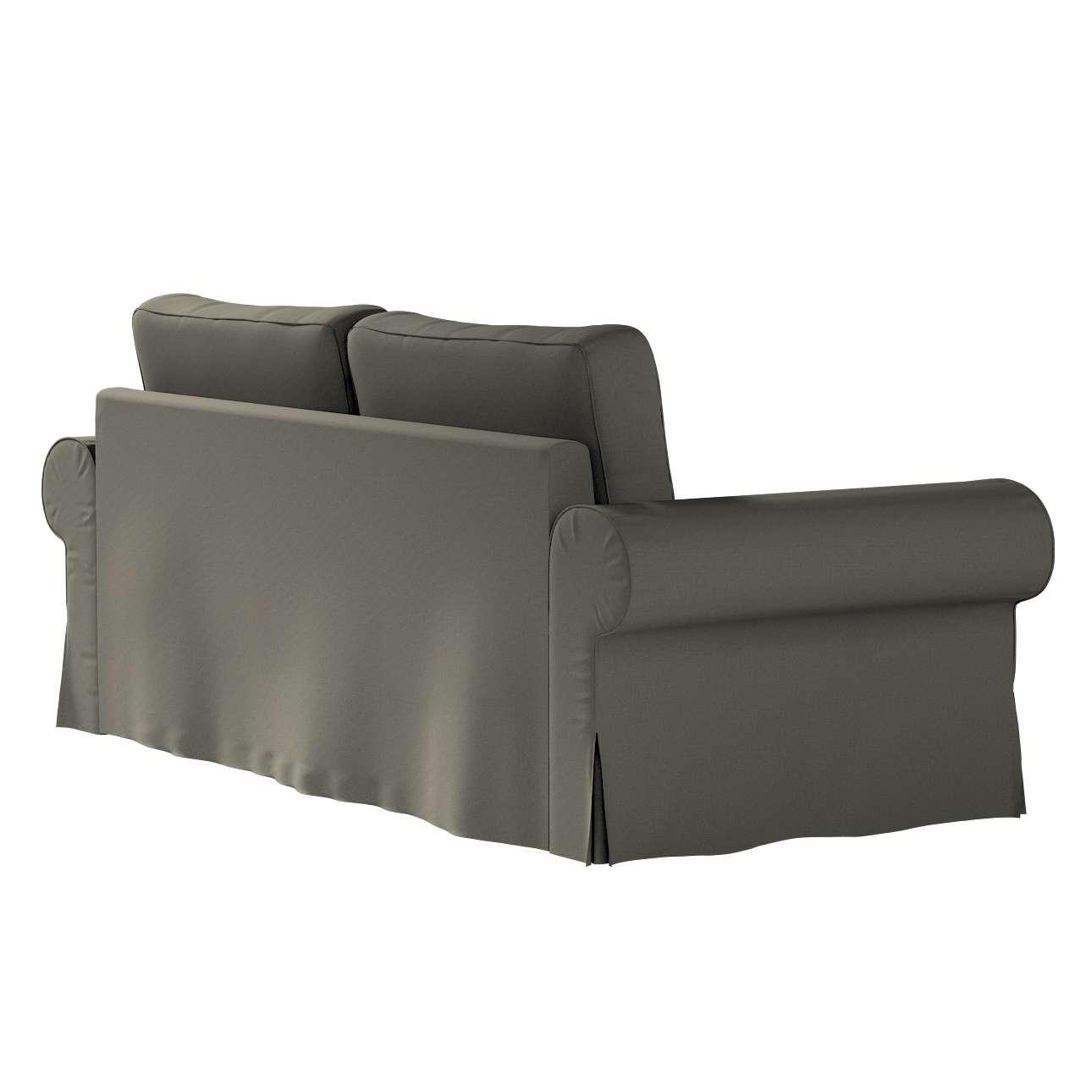 Pokrowiec na sofę Backabro 3-osobową rozkładaną w kolekcji Living, tkanina: 161-55