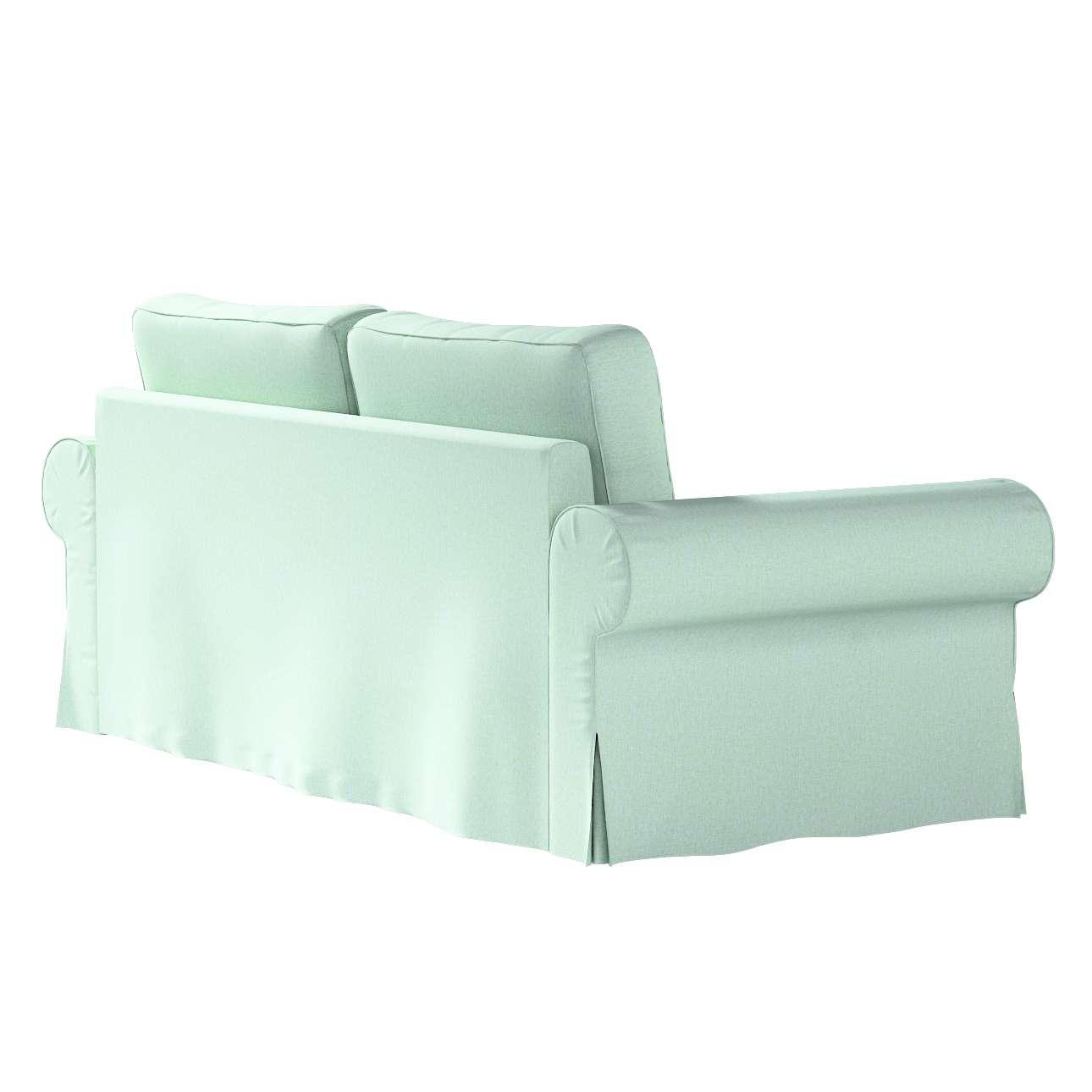 Pokrowiec na sofę Backabro 3-osobową rozkładaną w kolekcji Living, tkanina: 161-61