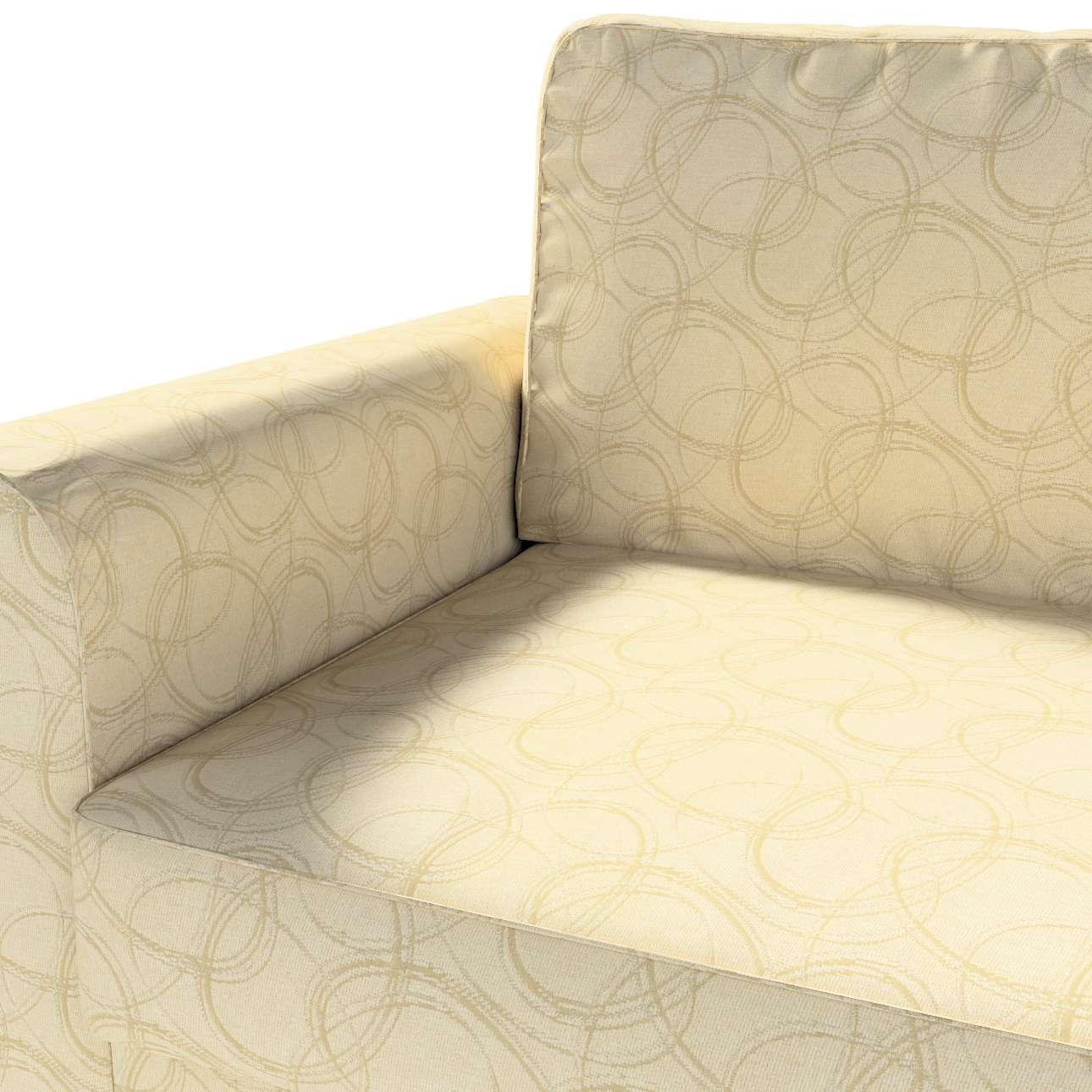 Pokrowiec na sofę Backabro 3-osobową rozkładaną w kolekcji Living, tkanina: 161-81