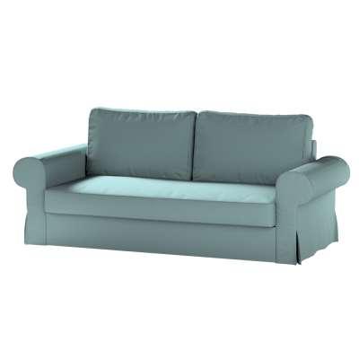 Pokrowiec na sofę Backabro 3-osobową rozkładaną w kolekcji Cotton Panama, tkanina: 702-40
