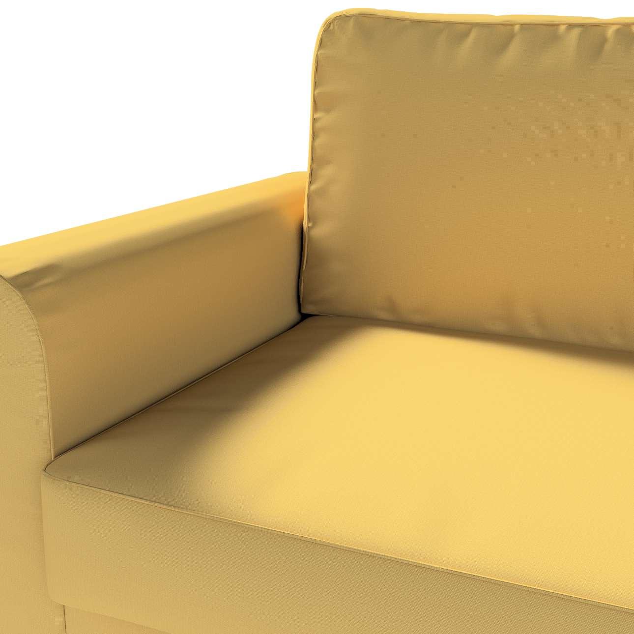Pokrowiec na sofę Backabro 3-osobową rozkładaną w kolekcji Cotton Panama, tkanina: 702-41