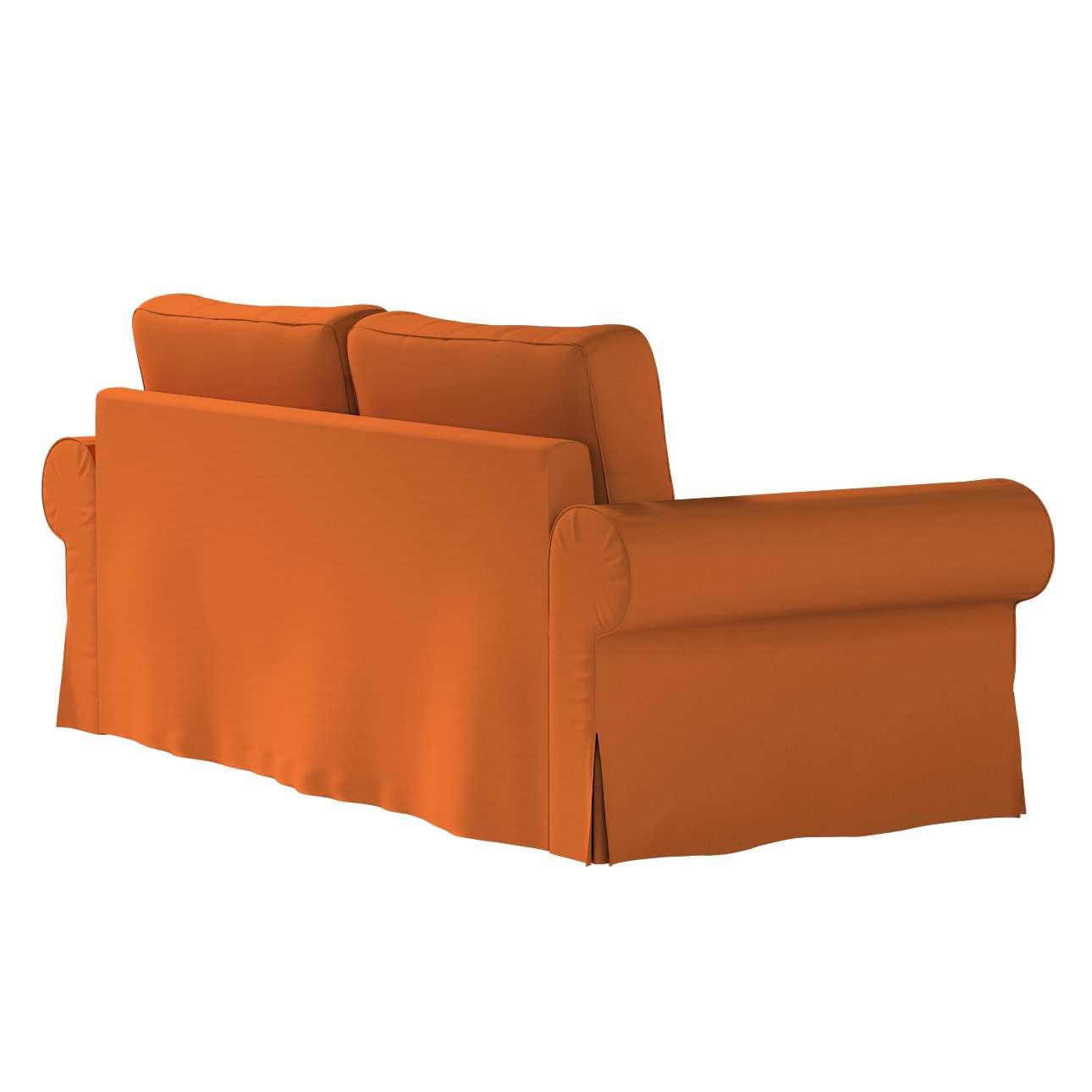 Pokrowiec na sofę Backabro 3-osobową rozkładaną w kolekcji Cotton Panama, tkanina: 702-42