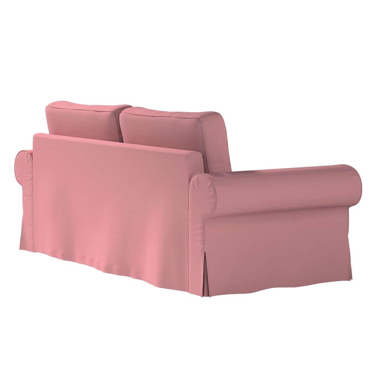Pokrowiec na sofę Backabro 3-osobową rozkładaną w kolekcji Cotton Panama, tkanina: 702-43