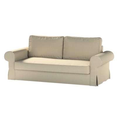 Backabro trivietės sofos užvalkalas 704-80 pilkai smėlio spalvos šenilinis audinys Kolekcija City